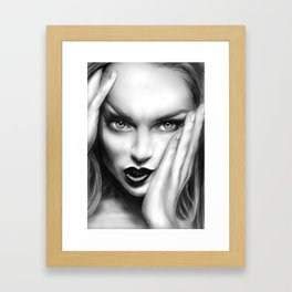 + MEAN GIRL + Framed Art Print