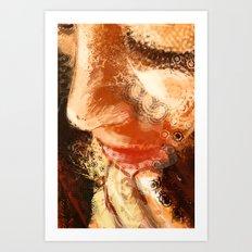 Night Pose 2 Art Print