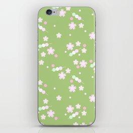 sakura sweets pattern iPhone Skin