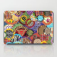 quilt iPad Cases featuring Quilt Doodle by DesignsByMarly