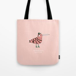 Woodcock sucker Tote Bag