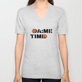 Dame Time Basketball All Star Meme Unisex V-Neck