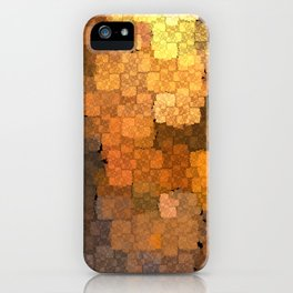 Copper Mosaic iPhone Case