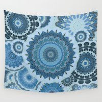 gypsy Wall Tapestries featuring GYPSY by Monika Strigel