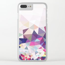 Travelling Tris Clear iPhone Case