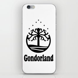 Gondorland iPhone Skin
