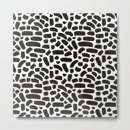 Brush strokes pattern #8 Metal Print