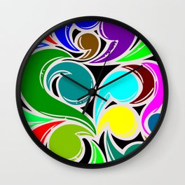 Flowing_01 Wall Clock