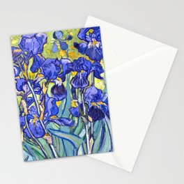 Vincent Van Gogh Irises Stationery Cards