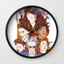 The twelfth hour Wall Clock