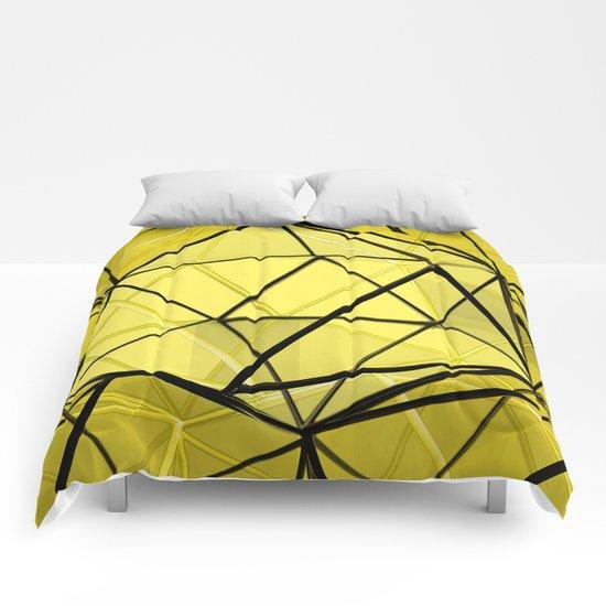 hexagonal dreaming Comforters