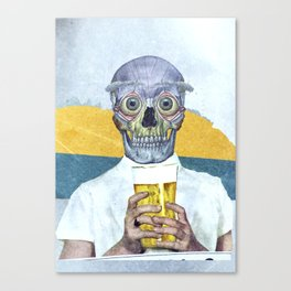 I want my beer Canvas Print