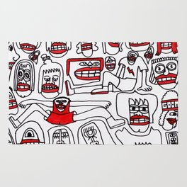 The Whole Crew Rug