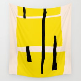 Yellow dream Wall Tapestry