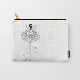 Chrysanthemum Moments Carry-All Pouch