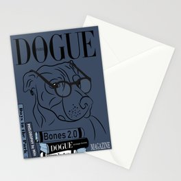 Dogue MAGAZINE - Book Smart Edt Blue Stationery Cards