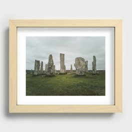 Standing Stones Recessed Framed Print