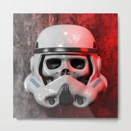 Stormtrooper Skull 01 Metal Print