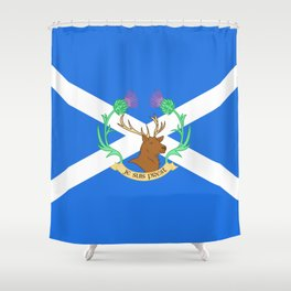 Clan Fraser Shower Curtain