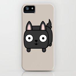 German Shepherd Loaf in Black iPhone Case
