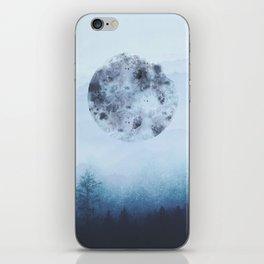 Watercolor Moon iPhone Skin