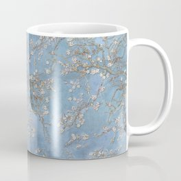 3d, wallpaper, background in Van Gogh style, Almond Blossoms, seamless Coffee Mug
