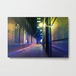 Alley Way Monroe Metal Print