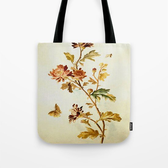 Chrysantheme Tote Bag