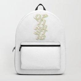 Optimistic Backpack