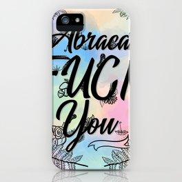 Abraca-F***-You iPhone Case