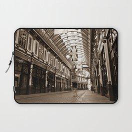 "Leadenhall Market London With "" ghost "" Laptop Sleeve"