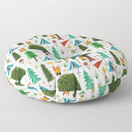 camp things Floor Pillow