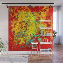 Abstract Tree Wall Mural