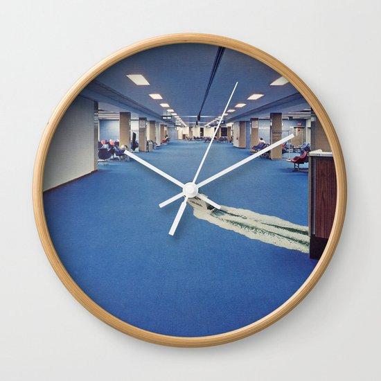 Departure Wall Clock