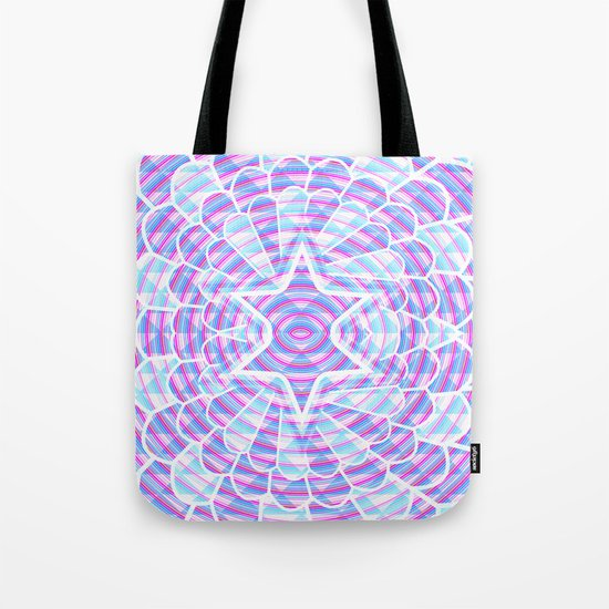 Blue trance Tote Bag