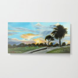 """""""Hope, Outside the Castillo"""" St Augustine, FL Metal Print"""