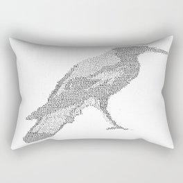ASCII Magpie Rectangular Pillow