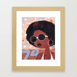 Afro 74 Framed Art Print