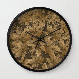 Autumn moods n.6 Wall Clock