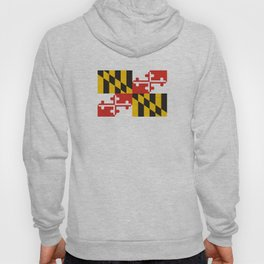 maryland state state flag united states of america country Hoody