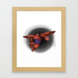 Big Hero Baymax Framed Art Print