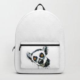 Lemur Head Backpack
