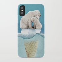 ice iPhone & iPod Cases featuring polar ice cream cap 02 by Vin Zzep
