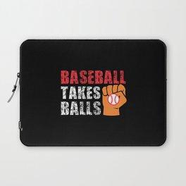 I Love Baseball Laptop Sleeve
