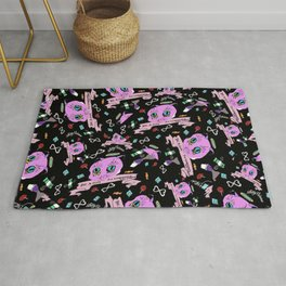 Do Whatever You Want Textile Print Rug