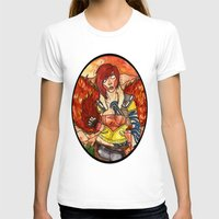 borderlands T-shirts featuring Lilith from Borderlands by Jazmine Phillips
