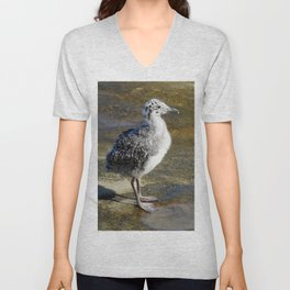 Ring-billed Gull Chick Unisex V-Neck