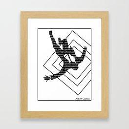 camus Framed Art Print