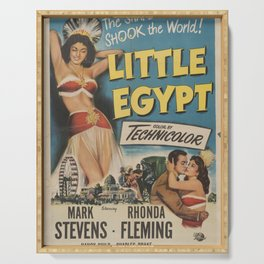 Classic Movie Poster - Little Egypt Serving Tray