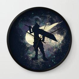 Cloud Space Wall Clock